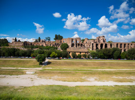 The Circus Maximus in Rome, Italy